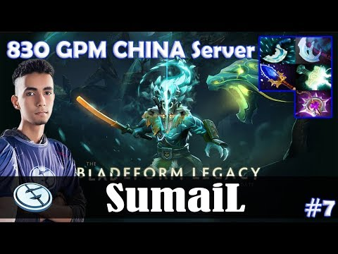 SumaiL - Juggernaut Safelane | 830 GPM CHINA Server | Dota 2 Pro MMR Gameplay #7 thumbnail