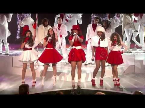 "Fifth Harmony ""Christmas (Baby Please Come Home) "" - Live Week 8: Final - The X Factor USA 2012 [HD]"
