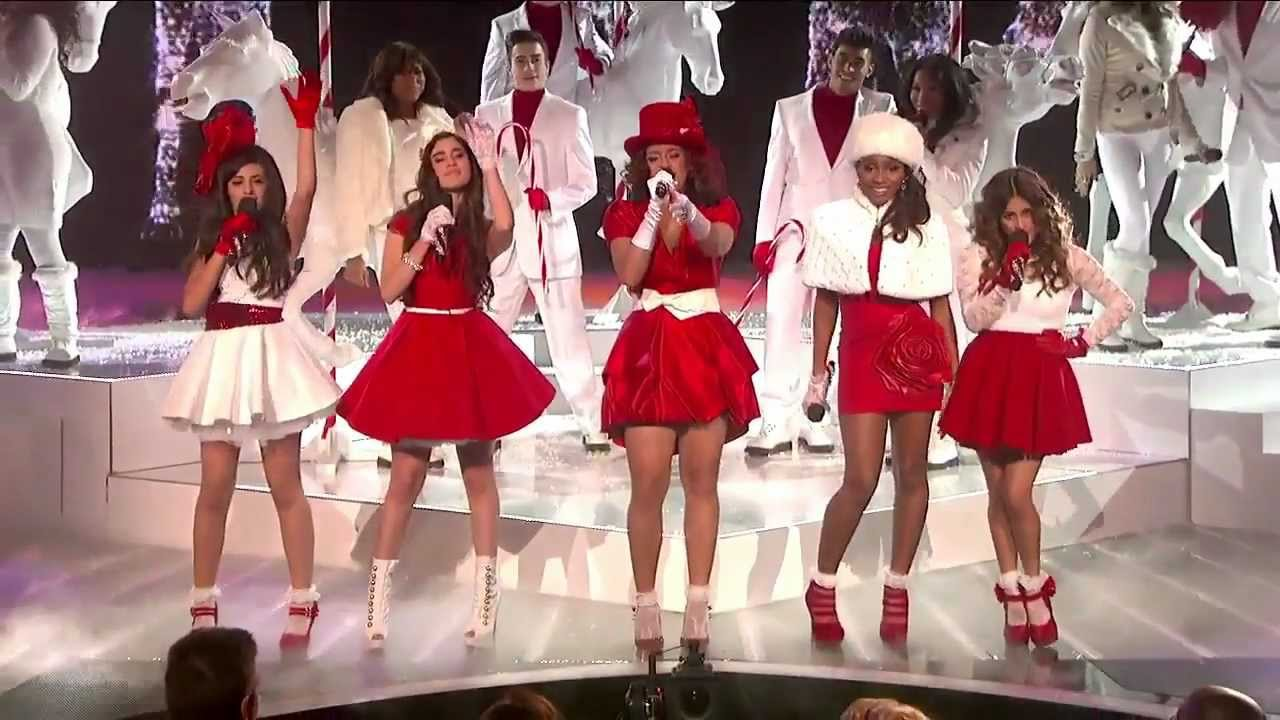 Fifth Harmony Christmas.Fifth Harmony Christmas Baby Please Come Home Live Week 8 Final The X Factor Usa 2012 Hd