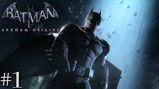 Batman: Arkham Origins Playthrough Ep.1 Black Mask