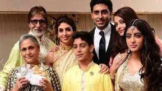 Amitabh Bachchan & Family at close friend's WEDDING