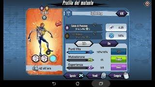 Mutants: Genetic Gladiators Breeding video (Footbot - Robot # Argento - Silver)