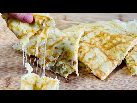 crÊpes-salÉes-moelleuses-garnies-d'une-faÇon-originale---facile-et-rapide.-deli-cuisine