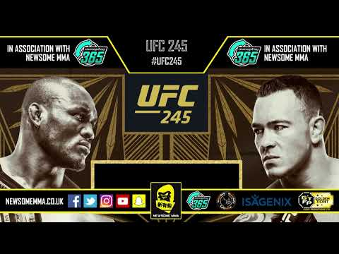 MMA UFC UFC 245: Kamaru Usman vs. Colby Covington episode of The Newsome MMA Podcast