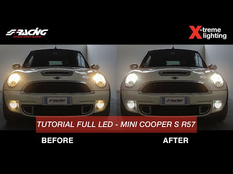 [ENG] Mini Cooper S R57 Xenon And Led Conversion - Simoni Racing