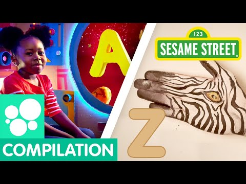 Sesame Street: A to Z Letter of the Day Alphabet Compilation