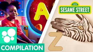 Sesame Street A to Z Letter of the Day Alphabet Compilation