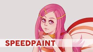 【SPEEDPAINT】Anemone (Eureka Seven)