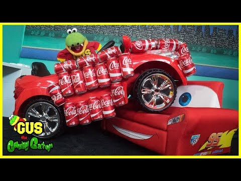 Coca Cola Challenge Coke Car Transforms into Magic Car