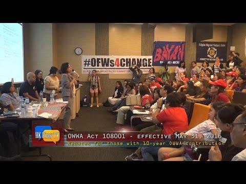 New OWWA Act provides rebate program for OFWs