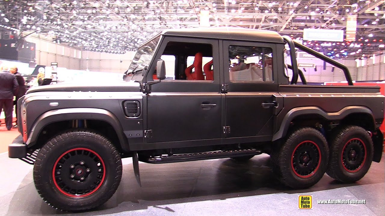 2016 Land Rover Flying Huntsman 6x6 by Kahn Exterior