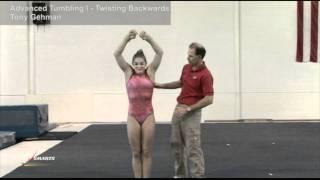Advanced Tumbling I  - Twisting Backwards - Tony Gehman