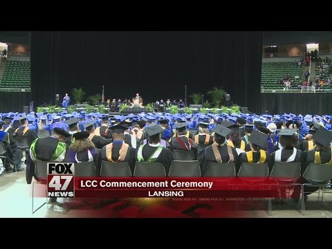 Lansing Community College Commencement over the weekend