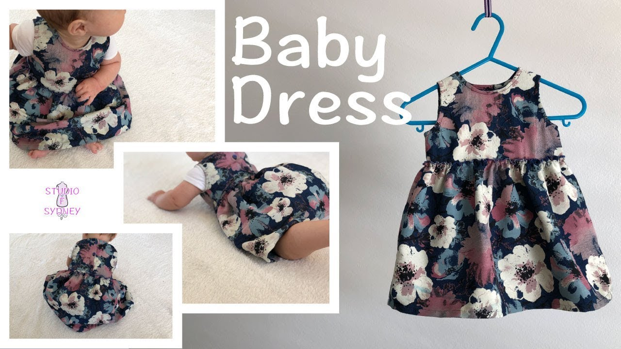 Baby Dress / How to make