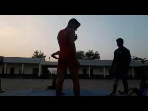 Manish Chaudhary 3st Wrestling in m.p