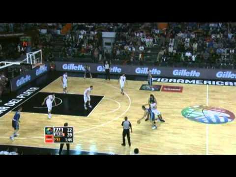 Argentina Vs. Paraguay  / 2011 FIBA Americas Championship Round 1