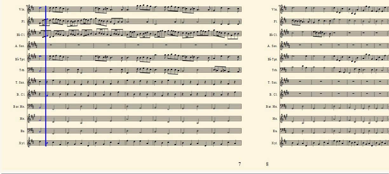 Pachelbel's Canon - Full Score - YouTube