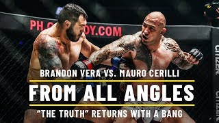 Brandon Vera Knocks Out Mauro Cerilli   ONE: From All Angles