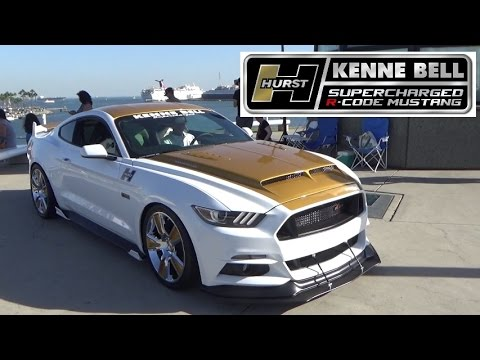 Hurst Kenne Bell Supercharged R Code Mustang At Ponies At