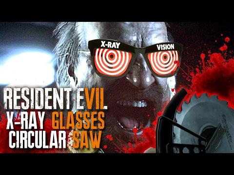 Unlocking X-Ray Glasses & Circular Saw - Resident Evil 7: Biohazard (Under 4 Hours Speedrun)
