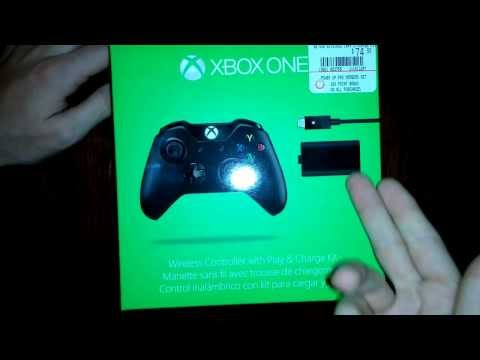 xbox-one-controller-and-play-&-charge-kit-unboxing