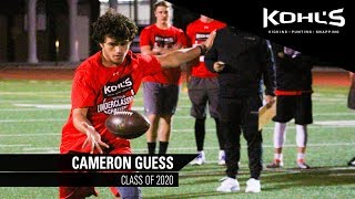 #6 Ranked Punter in America | Cameron Guess | Kohl's Kicking Camps