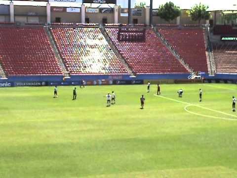 FCD Academy vs  Texans at Toyota Stadium 5 3 14 2nd Half