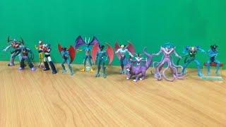 Mazinger Z vs. Devilman : กาชาปองเซ็ท หุ่นกายสิทธิ์ ปะทะ ค้างคาวกายสิทธิ์