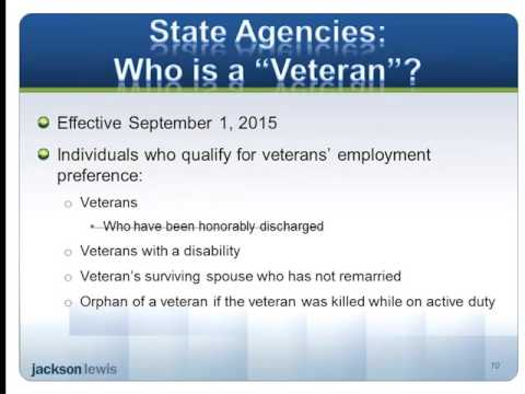 What Does the Texas Veterans Preference Law Mean for Employers  Rev2