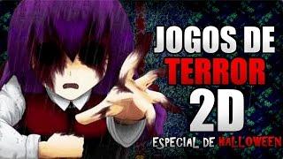 🔴 OS MELHORES JOGOS DE TERROR 2D (RPG Maker) - ESPECIAL HALLOWEEN #1 │ Vicio Games
