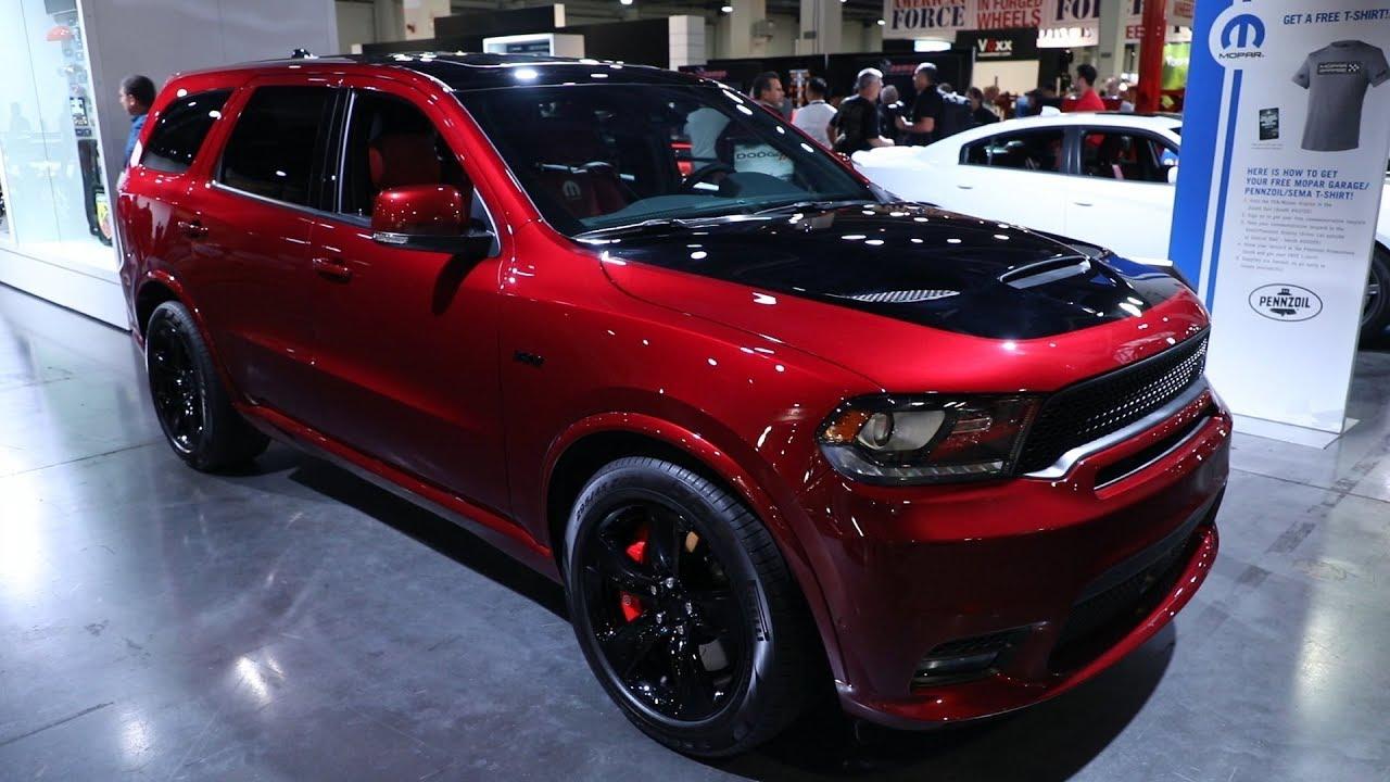 Moparized Dodge Durango Srt Concept Sema 2017 Youtube