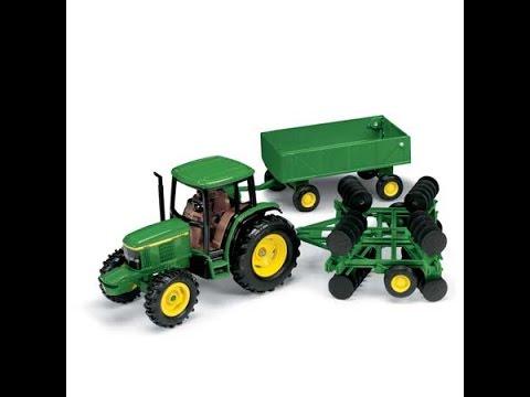Tracteur agricole avec remorque jouet pour les enfants youtube - Tracteur remorque enfant ...