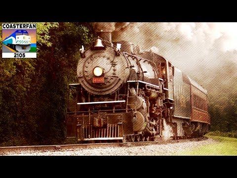 Six O' Clock - S. J. Armstrong (Steam Train Music Video)