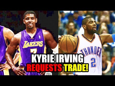 KYRIE IRVING TO BE TRADED FROM CLEVELAND CAVALIERS! NO LONGER WANTS TO PLAY WITH LEBRON JAMES!
