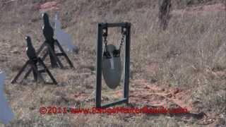 steel gong target by rangemaster rowdy