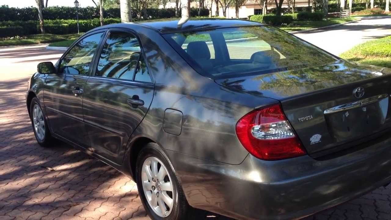 Wonderful 2002 Toyota Camry XLE   View Our Current Inventory At FortMyersWA.com
