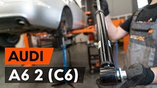 Coolant temperature sending unit installation AUDI A6: video manual