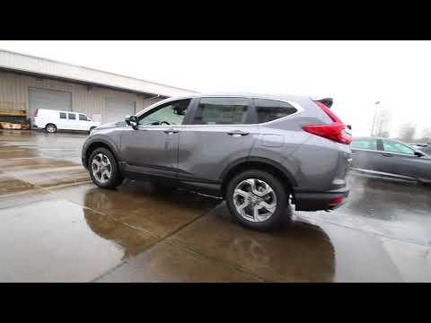 2018 Honda CR-V EX-L w/Navigation | Modern Steel Metallic | JH624544 | Seattle | Sumner |