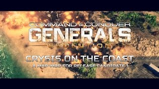 [ Generals : Evolution ] Crysis On The Coast - RC1 Map-Mod