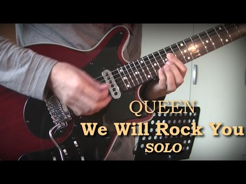 Queen -  We Will Rock You [Ending SOLO Cover]