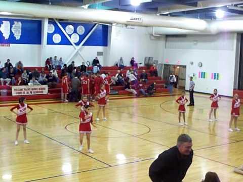Pleasant Plains Middle School Cheerleaders