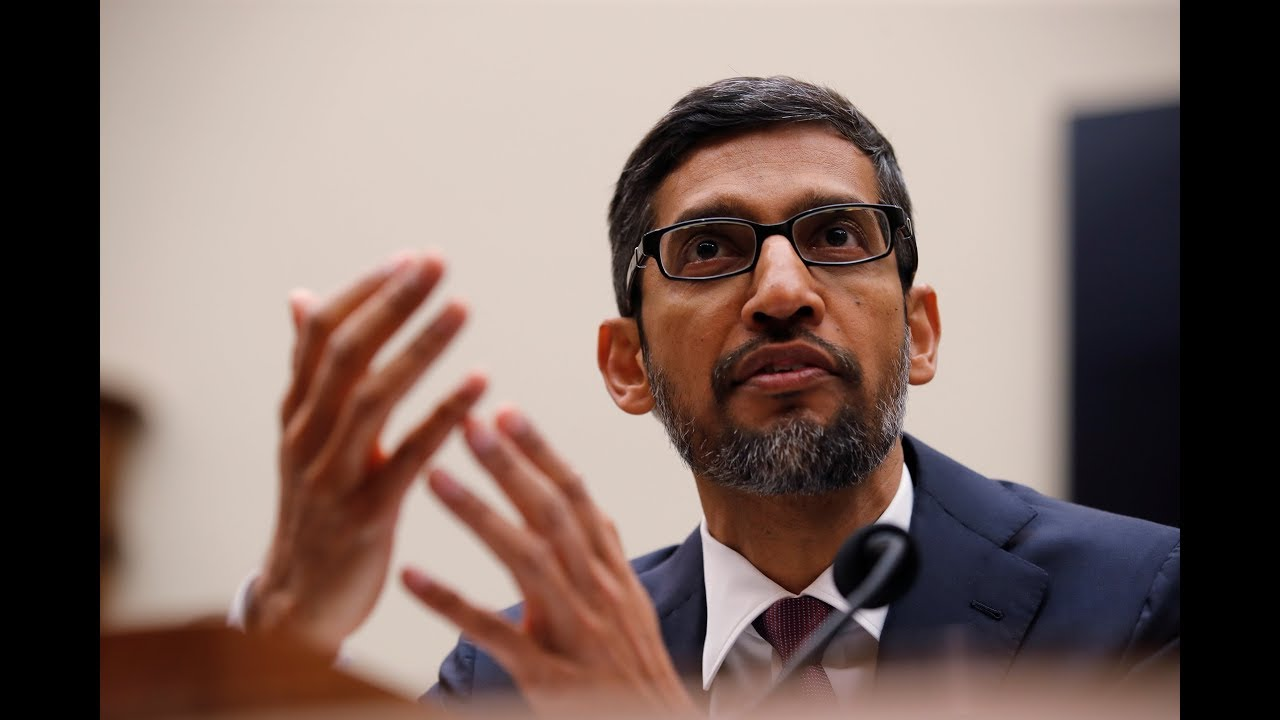 Google CEO Sundar Pichai Struggles to Defend Monopoly in Big ...