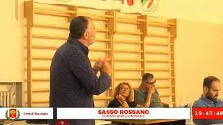 Il consigliere comunale Rossano Sasso si dichiara indipendente