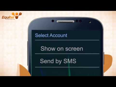 Equitel - How To Check Bank Account Balance