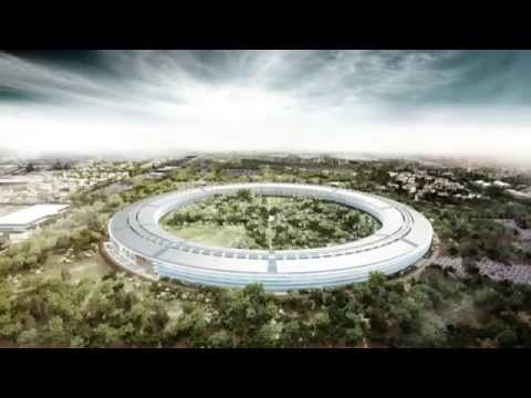 Apple's New Headquarters  in Cupertino