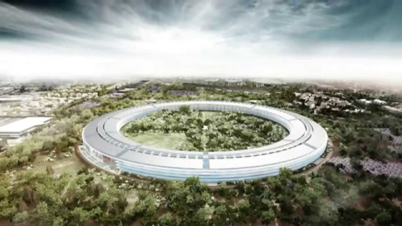Apples New Headquarters in Cupertino  YouTube