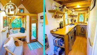 Young Woman Builds Charming Bayside Tiny House
