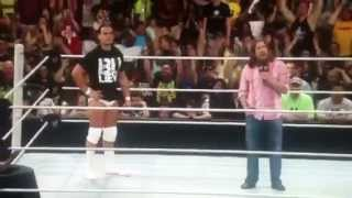 Bo Dallas/Daniel Bryan funny segment: MONEY IN THE BANK 2014