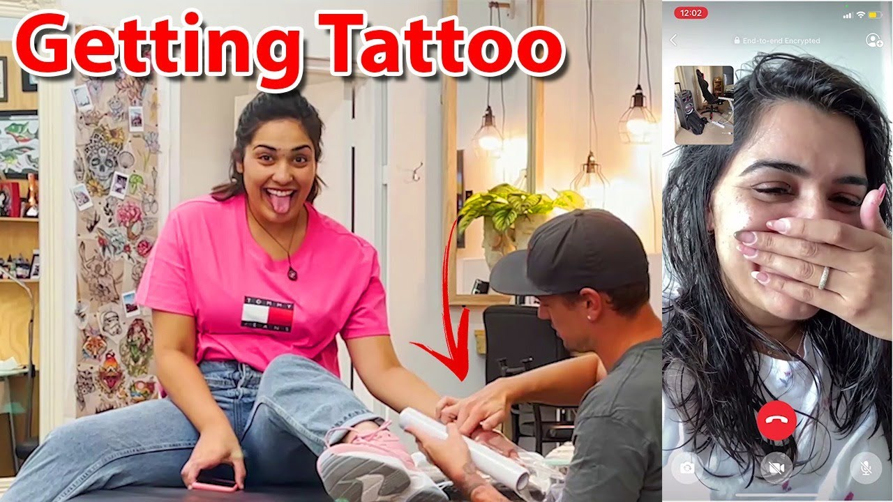 My new tattoos made my Family got emotional