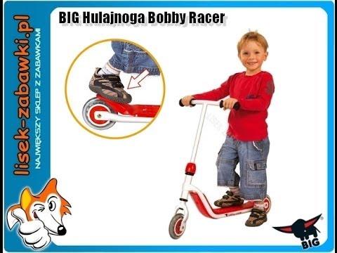 roller scooter big bobby racer spielzeug f r kinder youtube. Black Bedroom Furniture Sets. Home Design Ideas